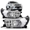 FAROL HILUX SRV 2016 A 2017 ELÉTRICO COM MOTOR SEM LED