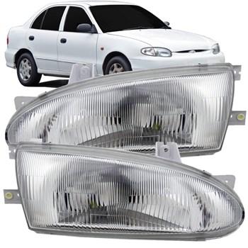 Farol Hyundai Accent Sedan 1993 A 1997