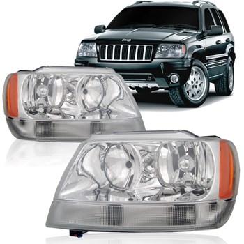 Farol Jeep Grand Cherokee Laredo 1999 2000 2001 2002 2003