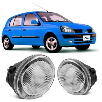 Farol Milha Auxiliar Neblina Renault Clio 1999 A 2002
