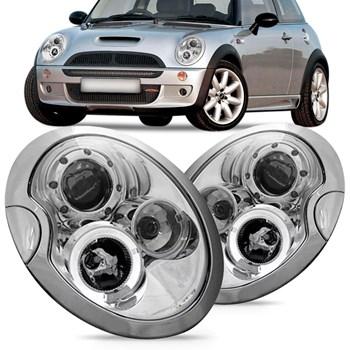 Farol Mini Cooper 2001 2002 2003 2004 Eletrico