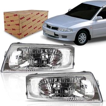 Farol Mitsubishi Lancer 1998 1999 2000 2001 Lente Lisa