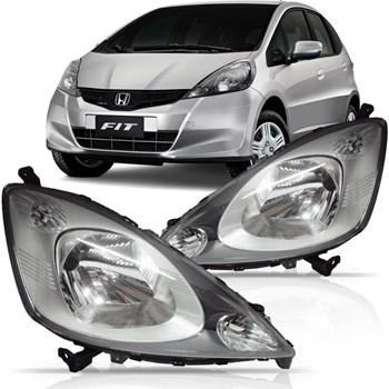 Farol New Honda Fit 2009 2010 2011 2012 2013