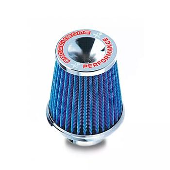 Filtro Ar Conico Performance C/ Tecido Filtrante Azul 12cm