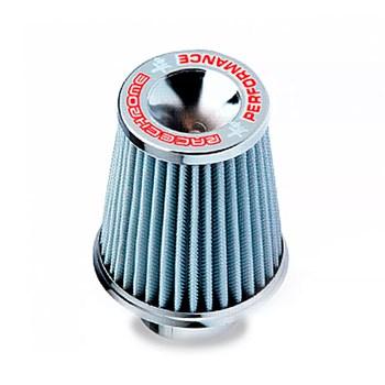 Filtro Ar Conico Performance C/ Tecido Filtrante Branco 12cm