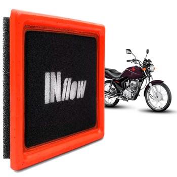 Filtro Ar Inflow Honda Cg 125 Cc 2008 2009 2010 2011 2012 2013