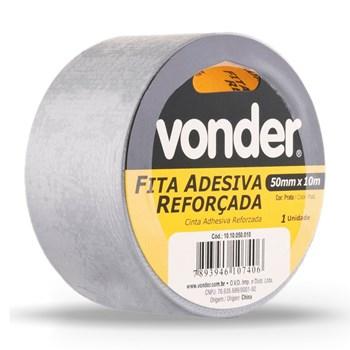 Fita Adesiva Multiuso 50 Mm x 10m Silver Tape Vonder