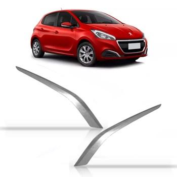 Friso Cromado Aro Do Milha Peugeot 208 Ano 2017 2018