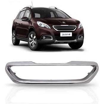 Friso Da Grade Peugeot 2008 Ano 2015 Á 2017 Cromado