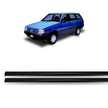 Friso De Teto Fiat Elba 1985 A 1995 2 E 4 Portas - 2 Peças