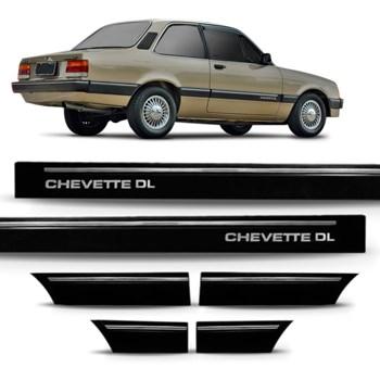 Friso Lateral Chevette Dl 1987 A 1990