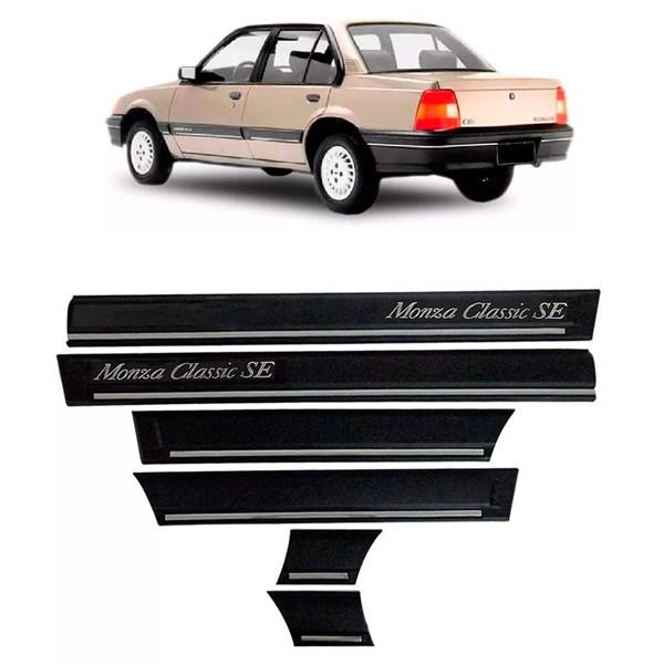 Friso Lateral Monza Classic Se 1991 1992 1993 4 Portas Colante Largo