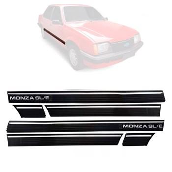 Friso Lateral Monza Sle 1983 1984 1985 1986 1987 4 Portas 6 Peças