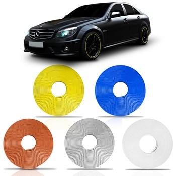 Friso Universal Carro Refletivo Adesivo Roda Filete Cores