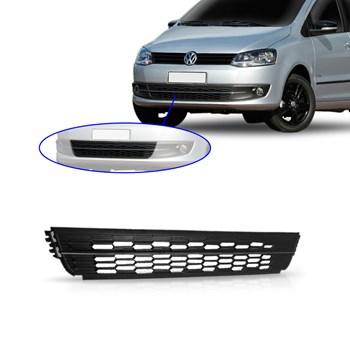 Grade Central Inferior Volkswagen Fox 2010 2011 2012 2013 2014 Com Friso Cromado