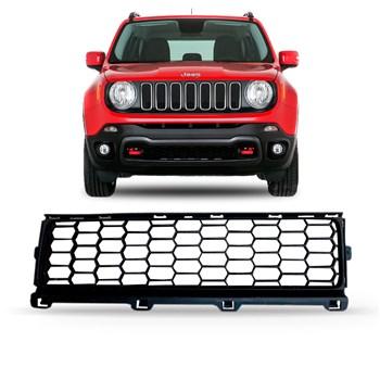 Grade Central Parachoque Dianteiro Jeep Renegade 2015 A 2018