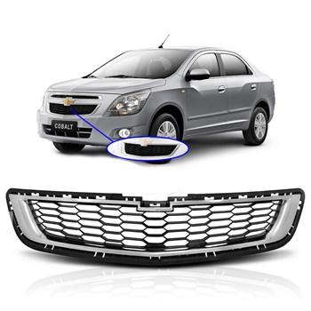 Grade Dianteira Chevrolet Cobalt 2012 2013 2014 2015 Friso Cromado
