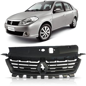 Grade Dianteira Superior Renault Symbol 2009 2010 2011 2012