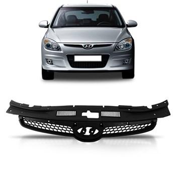 Grade Hyundai I30 2008 2009 2010 2011 2012 Preta Sem Friso Cromado
