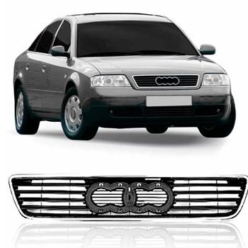 Grade Radiador Audi A6 1997 A 1999 Friso Cromado
