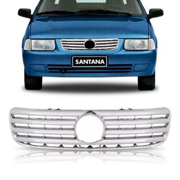 Grade Radiador Cromada Santana E Quantum 1999 A 2006