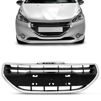 Grade Radiador Peugeot 208 2013 2014 2015 2016 Friso Cromado