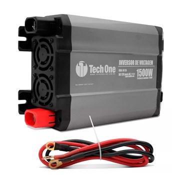Inversor De Voltagem Automático Veicular 12v Para 110v 1500