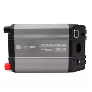 Inversor De Voltagem Tech One 1000w 12v Para 110v Com Usb