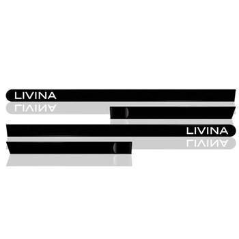 Jogo Friso Lateral Livina 4 Portas - 4 Peças