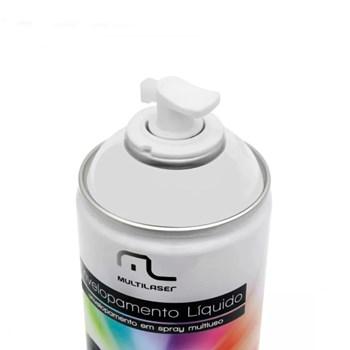 Kit 4 Latas Spray De Envelopamento Líquido Branco Fosco