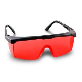 Kit 5 Óculos Segurança Vonder Foxter Vermelho