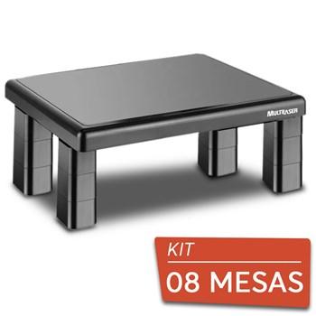 Kit 8 Suportes Para Monitor De Mesa Multilaser Quadrado