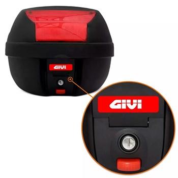 Kit Baú Givi Moto 29 Litros + Capa De Chuva Atrio