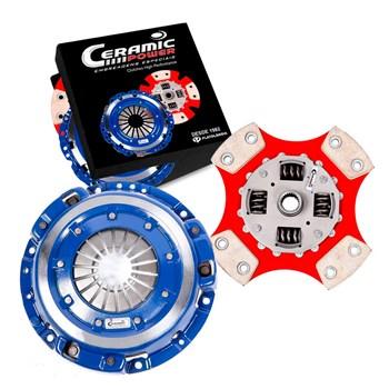 Kit Embreagem Cerâmica 4pastilhas / 980lb Conta Giro Carbono