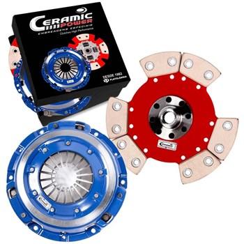 Kit Embreagem Cerâmica  GOL SANTANA PARATI SAVEIRO PASSAT VOYAGE Motor Ap 1.8 2.0 Turbo 1200lbs