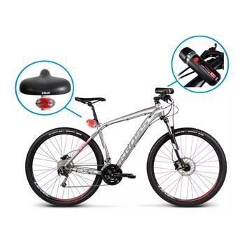 Kit Farol E Lanterna Para Bicicleta Multilaser - Bi006