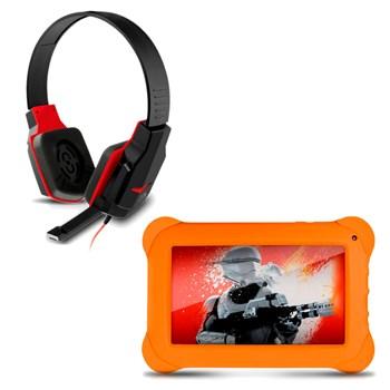 Kit Fone Headset Gamer + Tablet Disney Star Wars