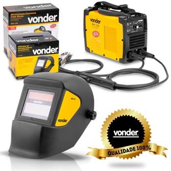 Kit Inversora De Solda Riv133 220v + Mascara Vonder