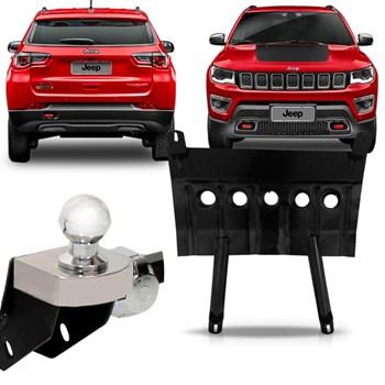 Kit Jeep Compass Engate Fixo + Protetor Carter