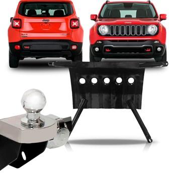 Kit Jeep Renegade Engate Fixo + Protetor Carter