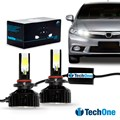 Kit Lâmpada Led Automotiva HB3 9005 6000K 7400 Lumens