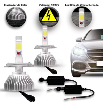 Kit Lampada Super Led Branca Honda Cr-v 2008 A 2014 Xenon 6000k