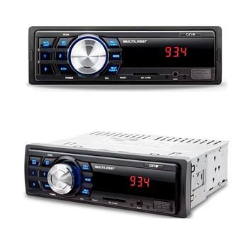 Kit  MP3 + 4 Alto Falantes 6 Polegadas  + 1 Cabo RCA 5 Metros + 2 CABOS Y