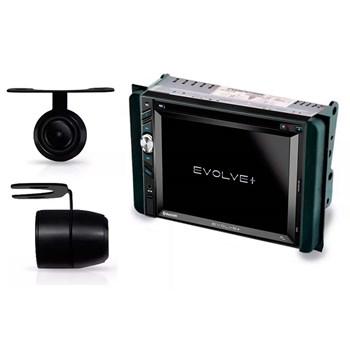 Kit Multimidia Evolve + / Camera Ré/ Moldura 2din Hilux