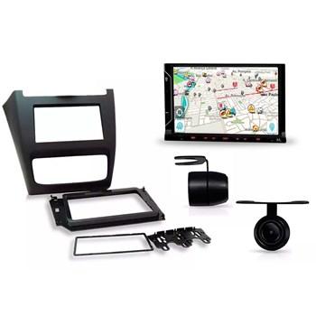 Kit Multimídia Evolve Fit /câmera Ré/ Moldura 2din Fox