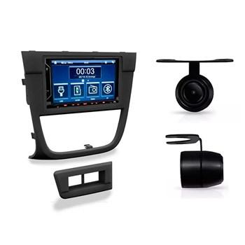 Kit Multimidia Evolve Fit/ Camera Ré/ Moldura 2din Gol Gv