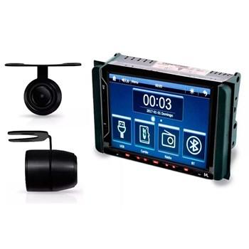 Kit Multimidia Evolve Fit/ Camera Ré/ Moldura 2din Hilux