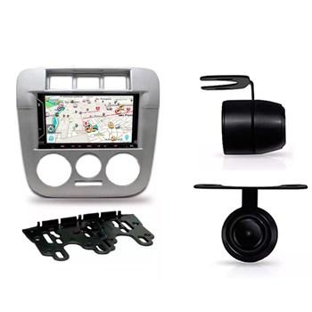 Kit Multimídia Evolve Fit /câmera Ré/ Moldura Gol G4 2din