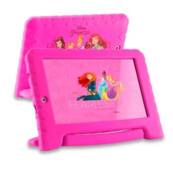 Kit Patinete 03 Rodas + Tablet Princesas 7 Polegadas 08gb