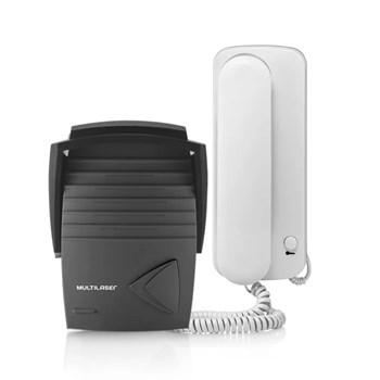 Kit Porteiro Eletrônico Com Interfone Multilaser Se401 Lacre